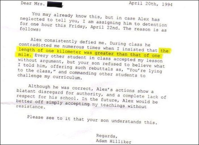 Funny Detention Reasons (21 pics)