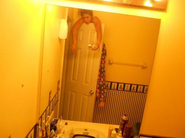 Funny and Really Bad Self Shots. Part 2 (33 pics)