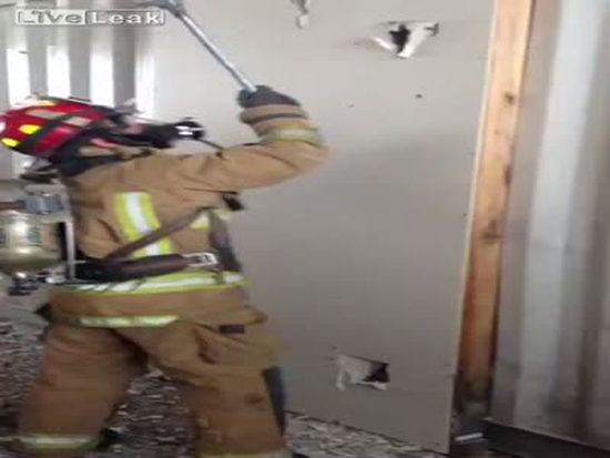 Firefighting Wall Ladder