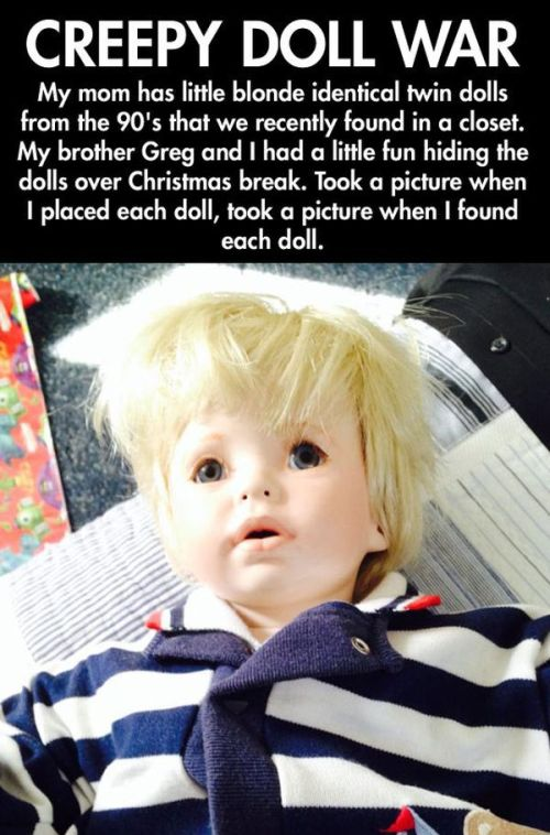 Creepy Doll War (16 pics)