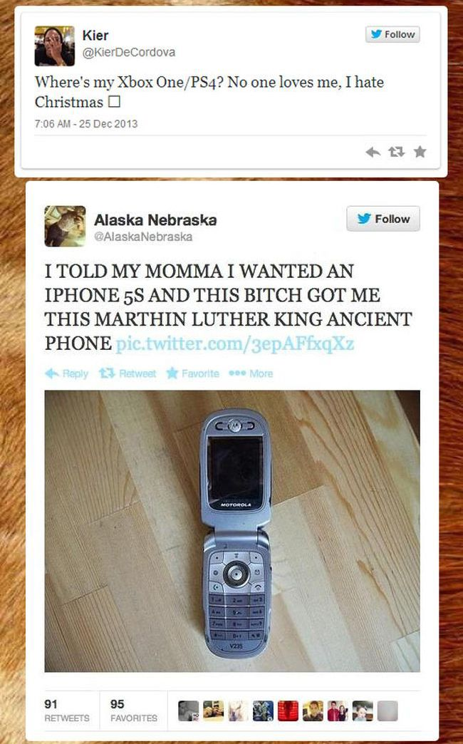 People Complaining About Their Christmas Gifts (7 pics)