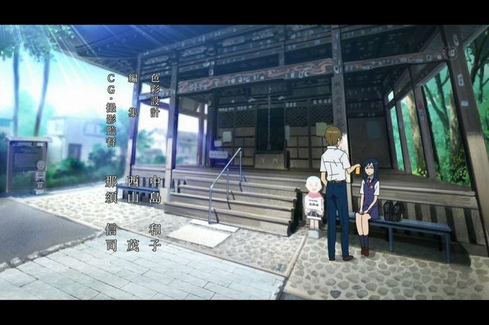 Anohana: Anime vs Real Life (28 pics)