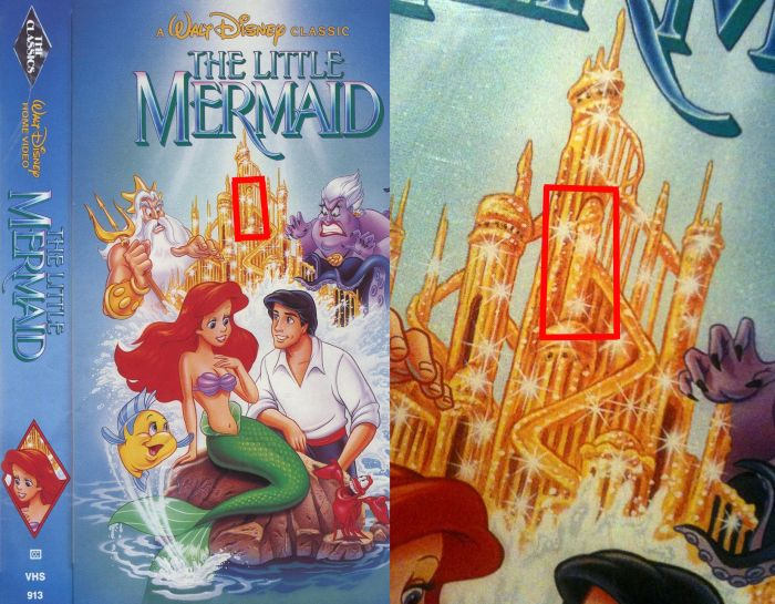 Hidden Sexual Images In Disney Movies (12 pics)