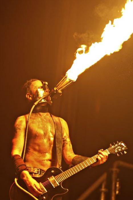 Photos from a Rammstein Concert (14 pics)