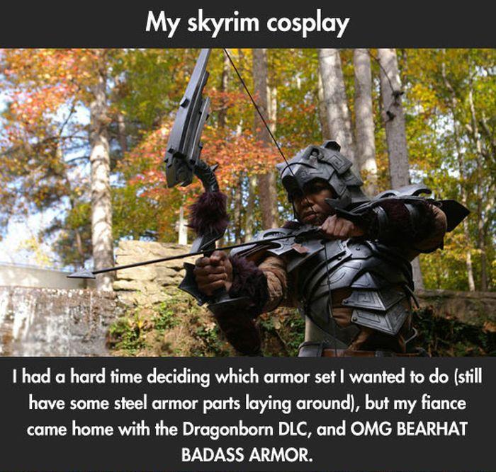 Skyrim Cosplay (5 pics)