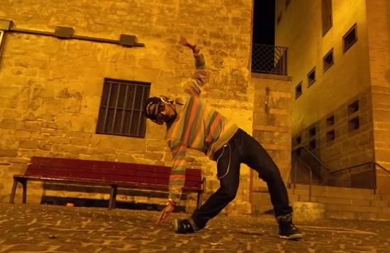 Amazing Slow Motion Dubstep Dance