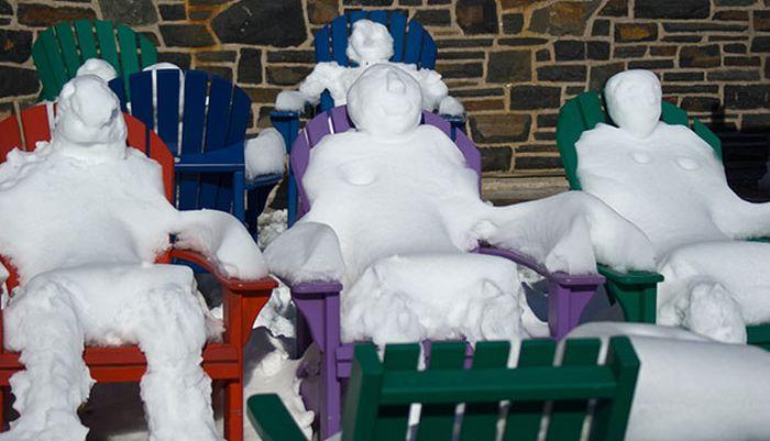 Funny Snowmen (28 pics)