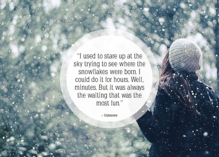 great quotes about snow 25 pics