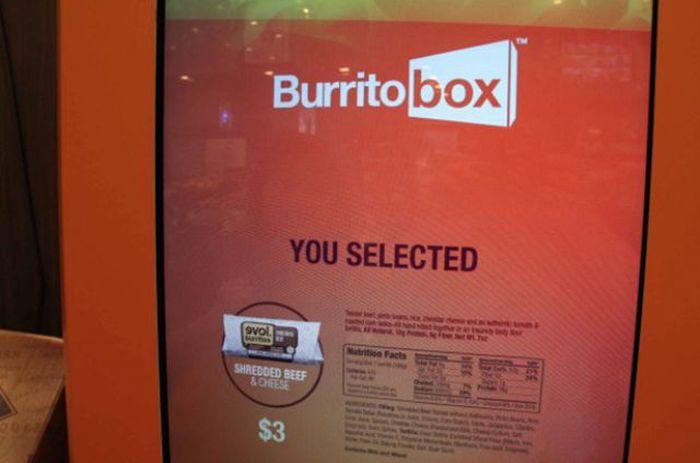 Burrito Vending Machine (5 pics)