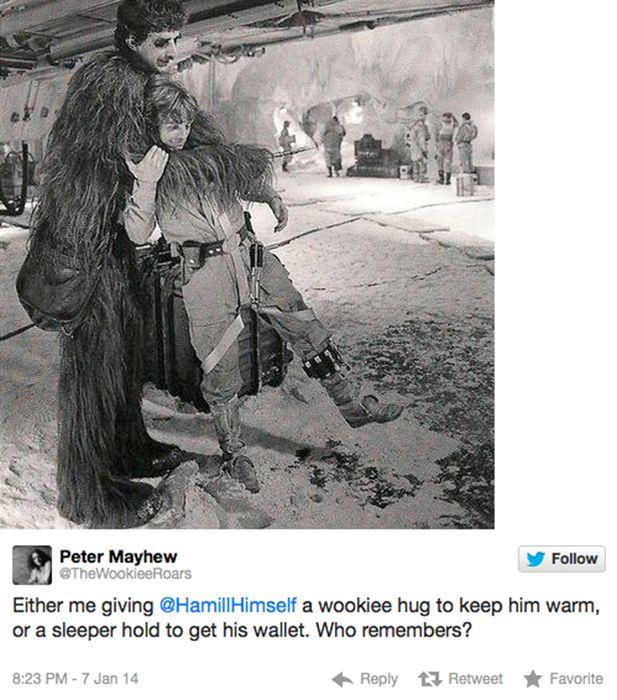 Peter Mayhew on Twitter (16 pics)