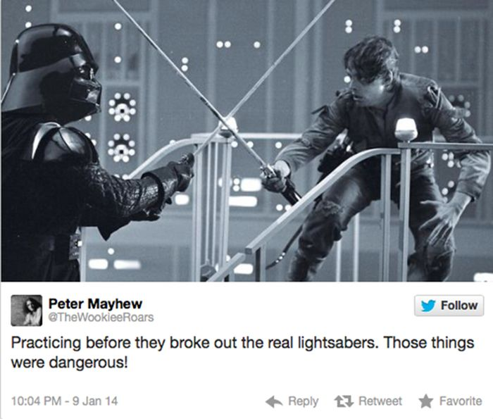 Peter Mayhew on Twitter (16 pics)