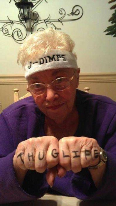 Gangster Grandmas (54 pics)