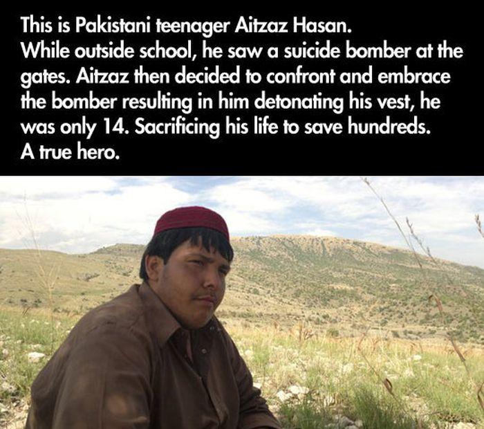 This Kid is a True Hero (2 pics)
