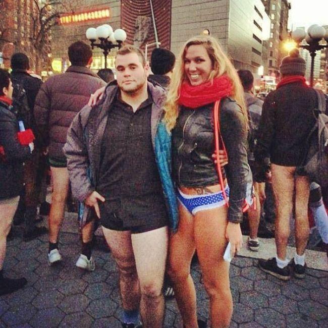 No Pants Subway Ride 2014. Girls Only Edition (44 pics)