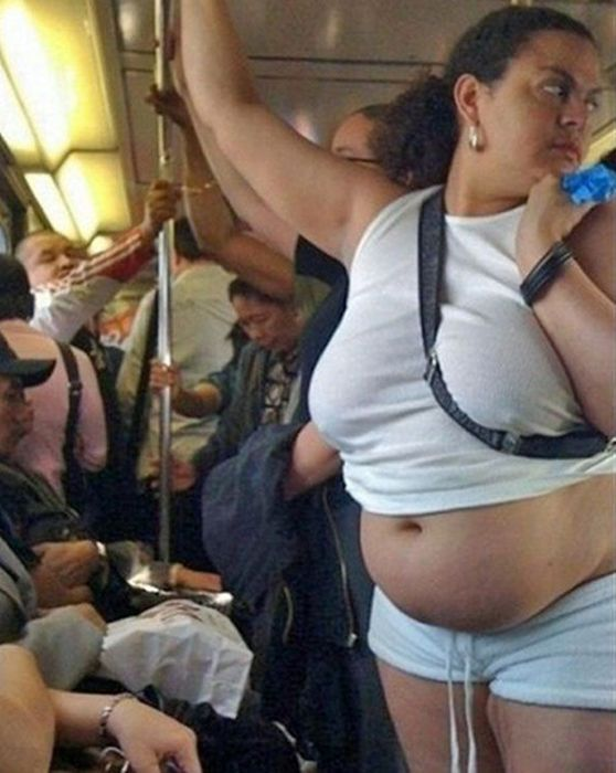 Funny People of Public Transport (49 pics)