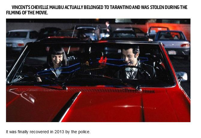 Interesting Facts About the Movie Pulp Fiction (20 pics)