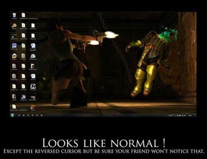 Evil PC Prank (9 pics)