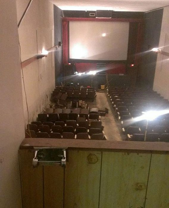 Abandoned Adult Theater (11 pics)