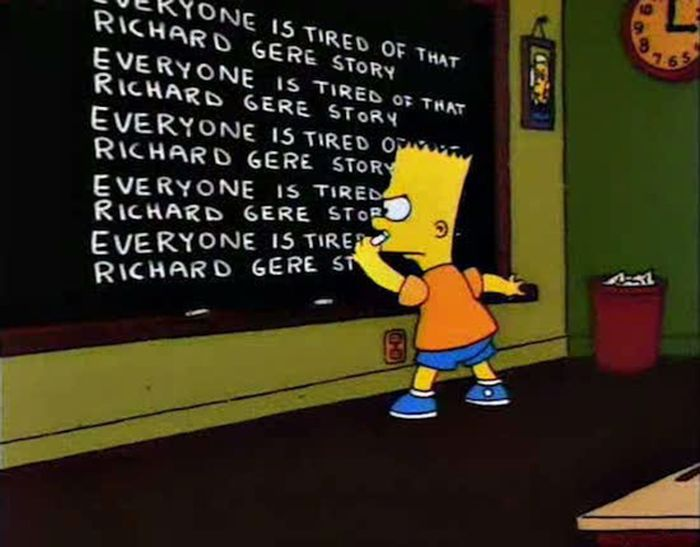 The Funniest Simpsons Chalkboard Gags (24 pics)