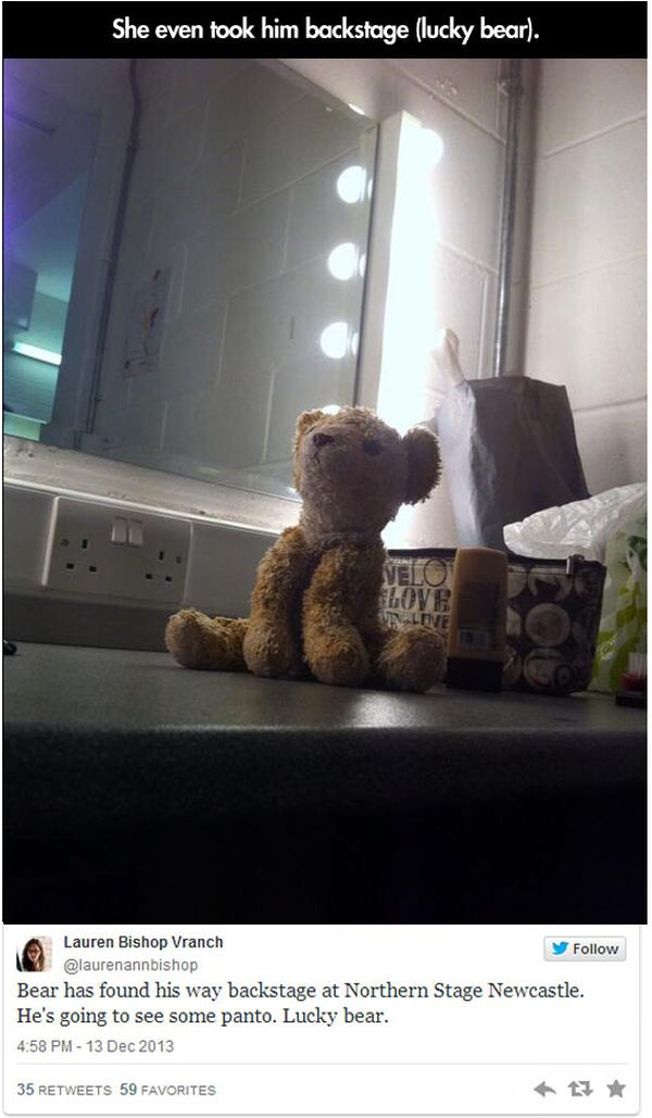 Lost Stuffed Animal (15 pics)