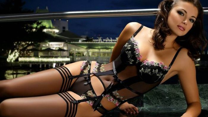 A Collection Of Beautiful Ladies For All The Lingerie Lovers Out There (44 pics)