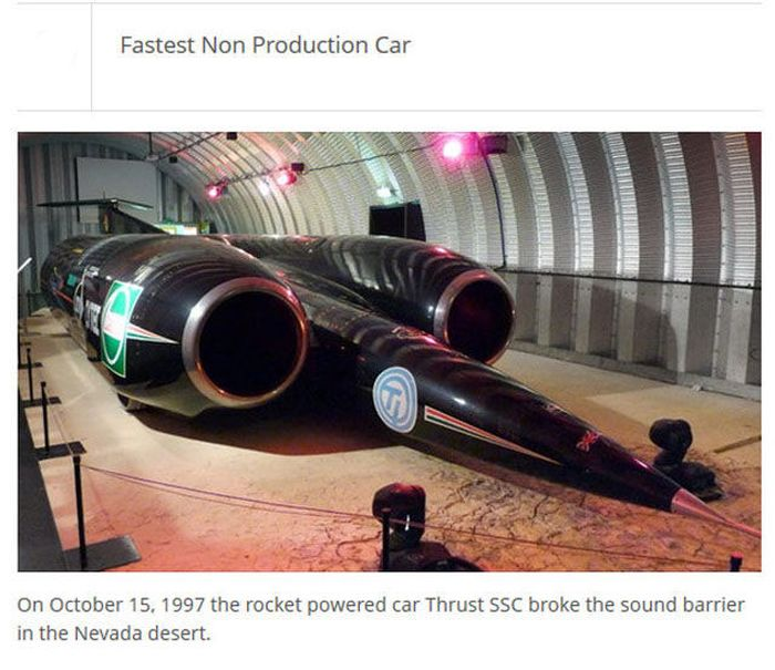 The Fastest Things In The World (25 pics)