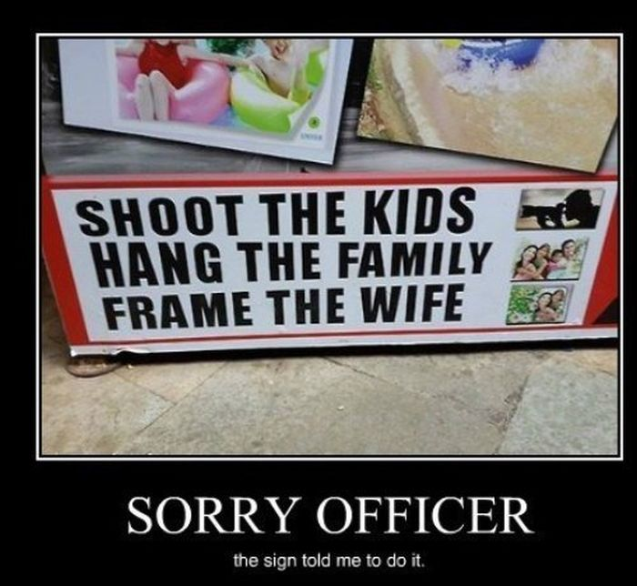 Funny Demotivational Posters (23 pics)
