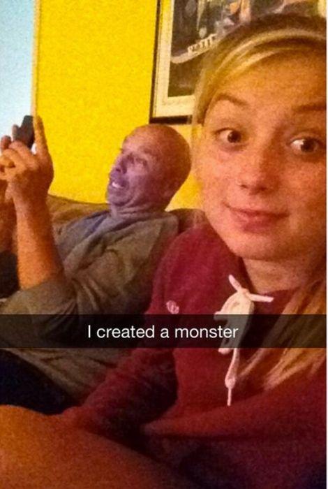 Funny Snapchat Photos (28 pics)