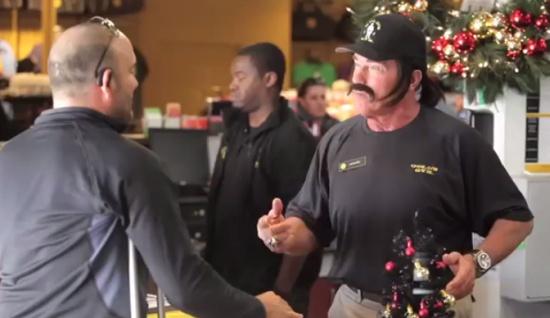 Arnold Schwarzenegger Pranks Gym Visitors