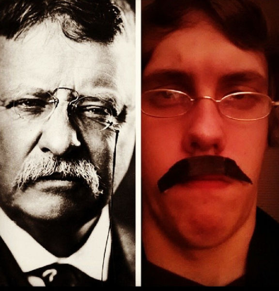 Chaz Rorick Tries Out the Faces of the US Presidents (44 pics)