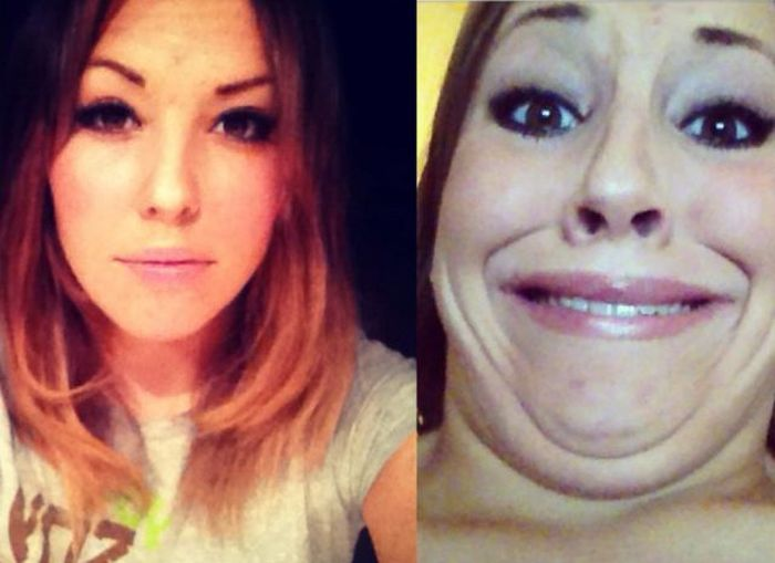 Cute Girls Making Ugly Faces (65 pics)