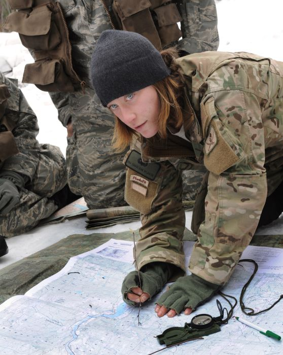 Military Women of the US Army (44 pics)