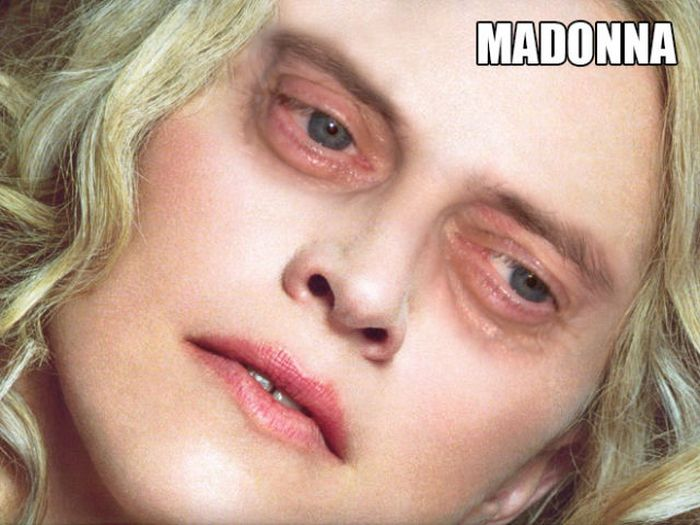 Steve Buscemi's Eyes on Famous Ladies (20 pics)