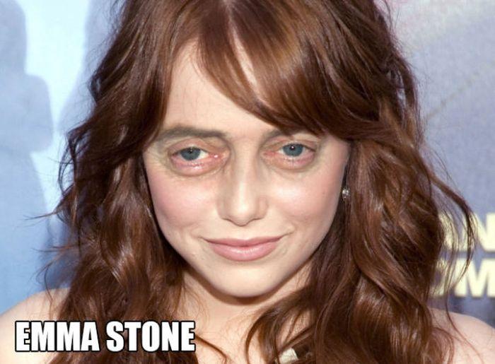 Steve Buscemi's Eyes on Famous Ladies (20 pics)