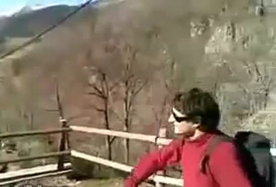 Mountain Ninja Showing Skills