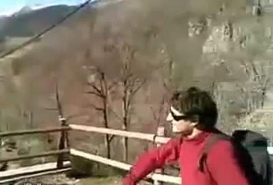 Mountain Ninja Showing Skills