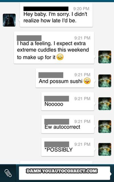 Autocorrect Fails. Part 12 (40 pics)