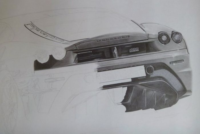 Pencil Drawings (34 pics)