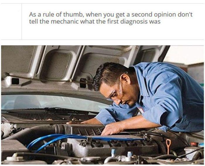 Car Mechanics' Secrets (25 pics)