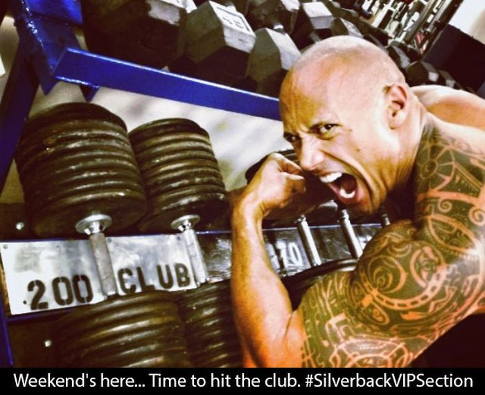The Rock is Rocking the Instagram (18 pics)