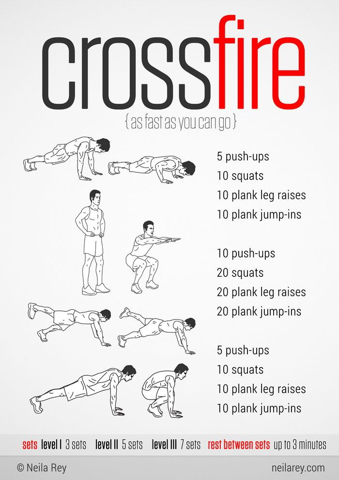 100 Workouts That Don't Require Equipment (46 Pics