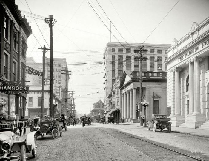 American Cities 100 Years Ago (28 pics)