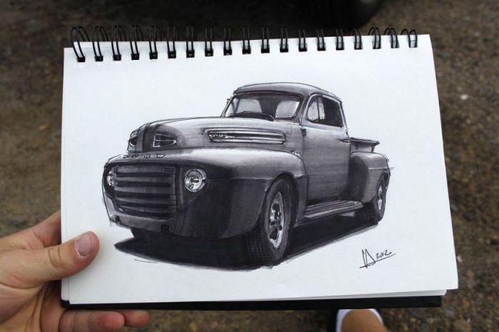 Car Sketches (31 pics)
