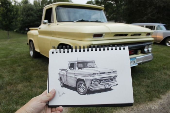 Car Sketches (31 pics)