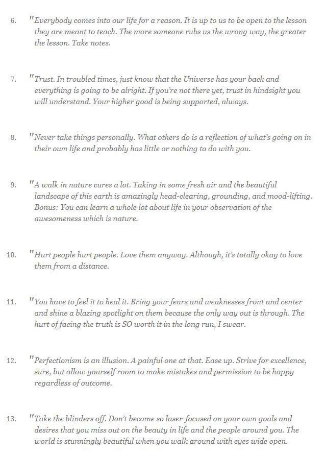 Life Lessons (9 pics)