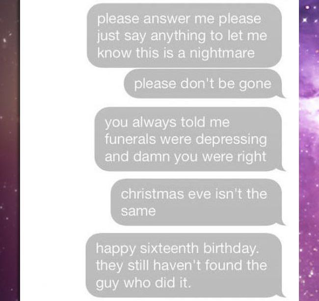 Very Sad Text Story (4 pics)