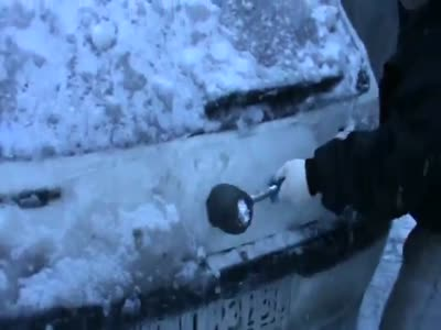 When a Car Gets Frozen