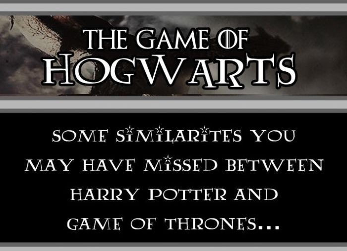 The Game of Hogwarts (10 pics)