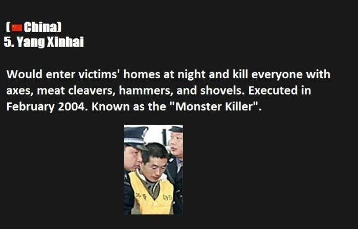 Top Ten Serial Killers (10 pics)