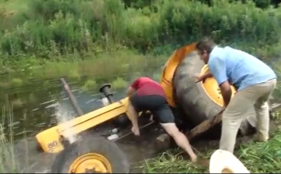 Funny Tractor Fails Compilation